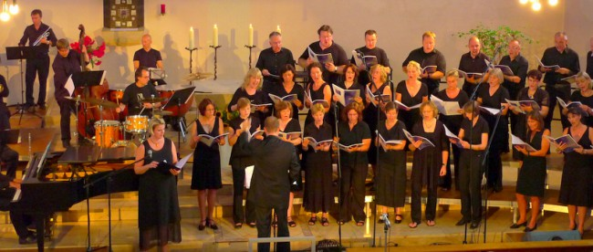 Will Todd: Mass in Blue - Konzert am 4. Juli 2010 in St. Patrokli, Dortmund